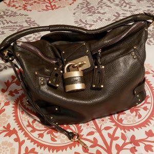 Chloe's shoulder bag.